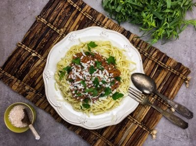 Foto des Produktes 'Linguine Bolognese'